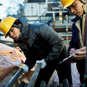 外国人就労先の現場